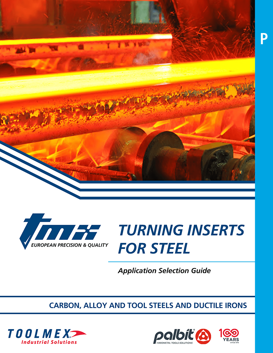 TMX Turning Inserts for Steel