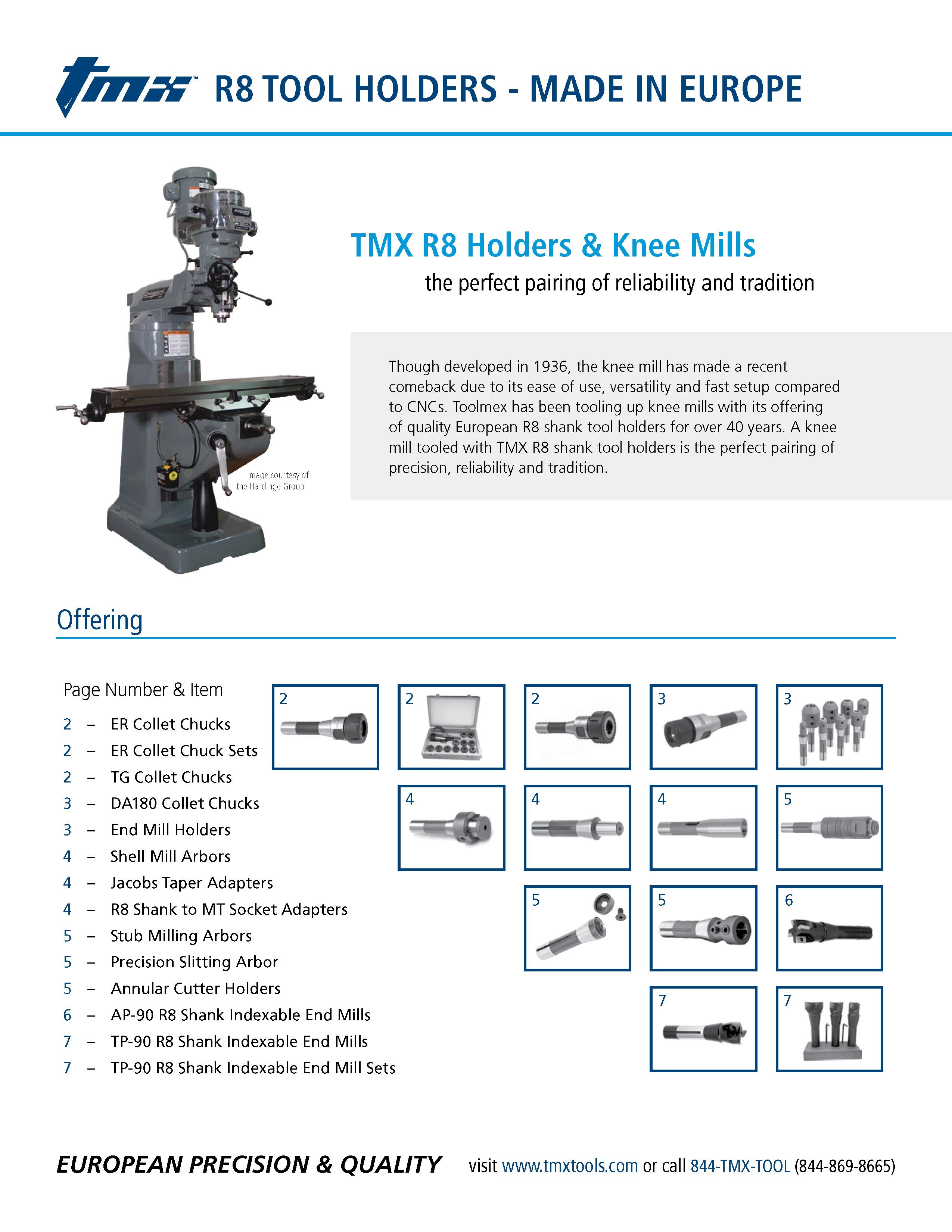 Download Literature Toolmex Industrial Solutions Trigon Wiring Diagram Tmx R8 Rotary Tool Holders