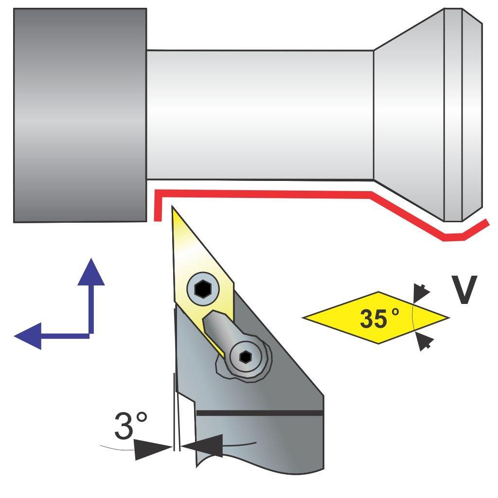 MVJNR 12-3B Toolholder