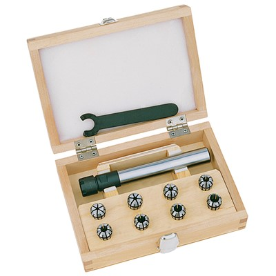 ER11 Collet Chuck KIT, 1/2in Shank