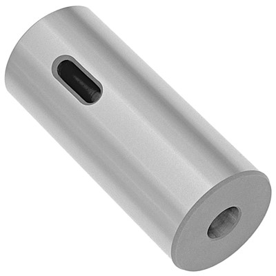 #4 Solid Socket with Morse Taper Hole