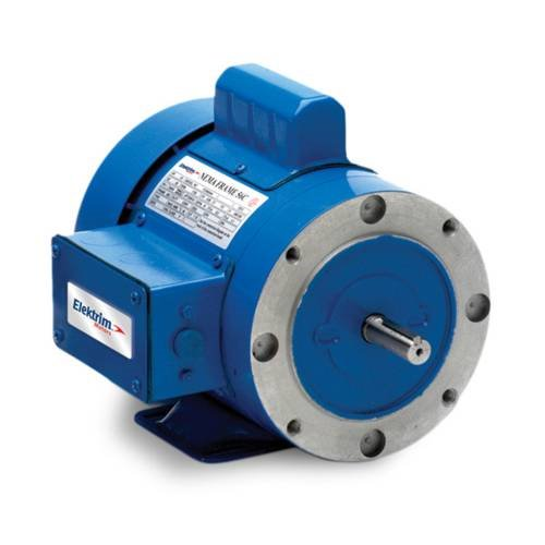 Single phase 56c foot mounted electric motors results for Large single phase motors